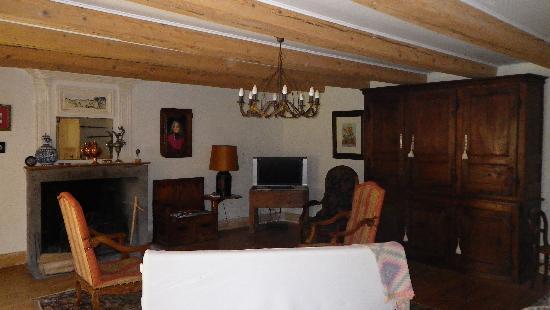 La Ferme des Prades: salle de repose authentique