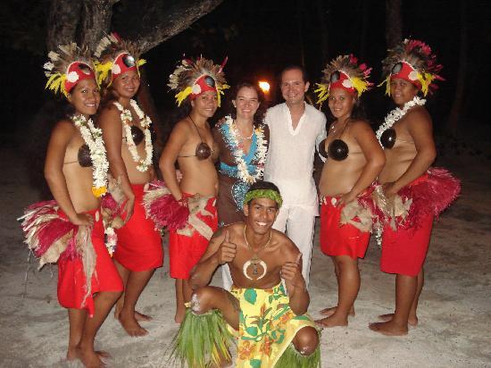 Le Taha'a Island Resort & Spa: Polynesian Show