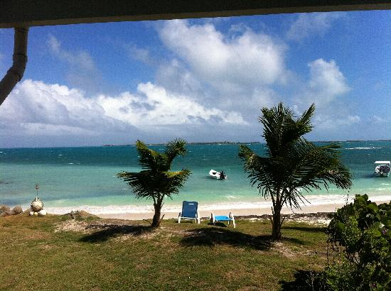 Dutchman's Bay Cottages: View from the porch