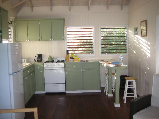 Dutchman's Bay Cottages: The cute kitchen