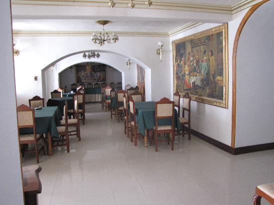 Hostal Los Pinos: Common area