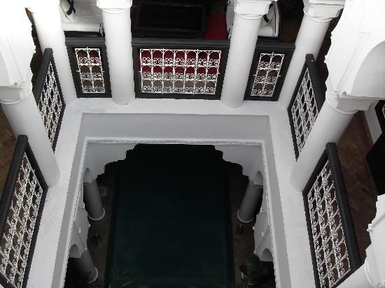 Riad L'Orchidee: View from above