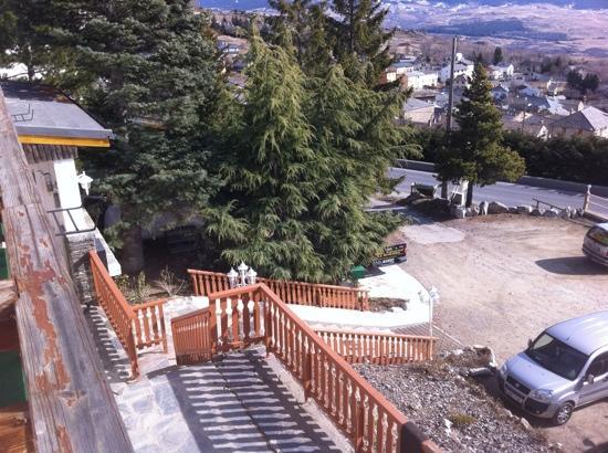 Hotel Le Romarin: from balcony 2