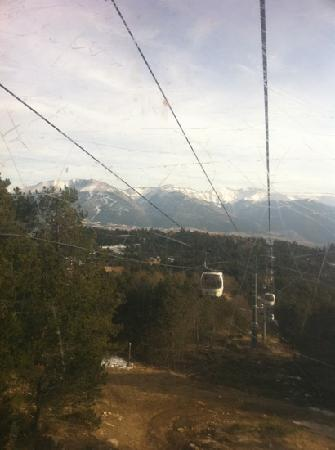 Hotel Le Romarin: From telecabine