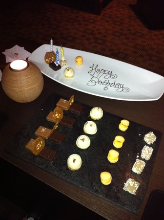 Number One at The Balmoral: Happy Birthday from Number One !