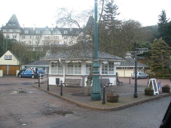 "Mackay's Hotel: ""down town"" strathpeffer"