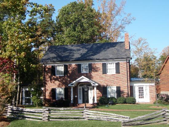 The Billy Graham Library: Childhood home