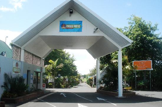 Auckland North Shore Motels & Holiday Park : Entrance