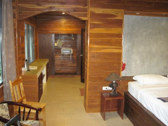 Good Days Lanta Beach Resort: chambre du beach cottage 3200 baht par nuit
