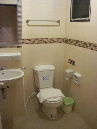 Great Residence Hotel : salle de bain