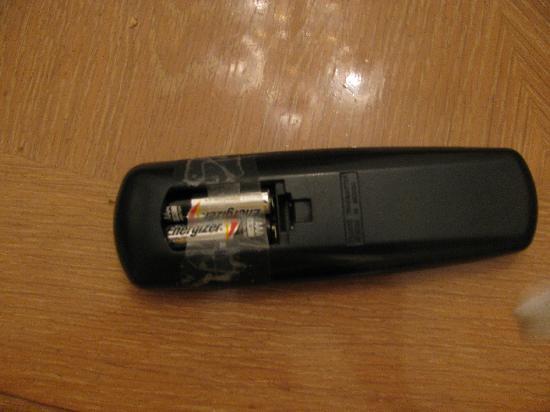 بلاك هورس لودج آند سويتس: Remote control.