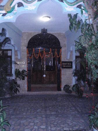Hotel Thamel: Porte Cochere of Thamel Hotel, Kathmandu