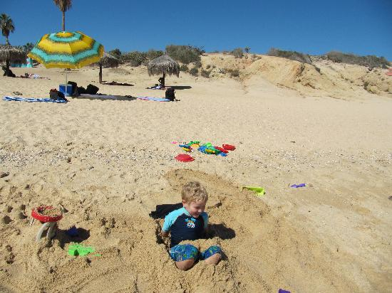 Chileno Beach: Very kids friendly
