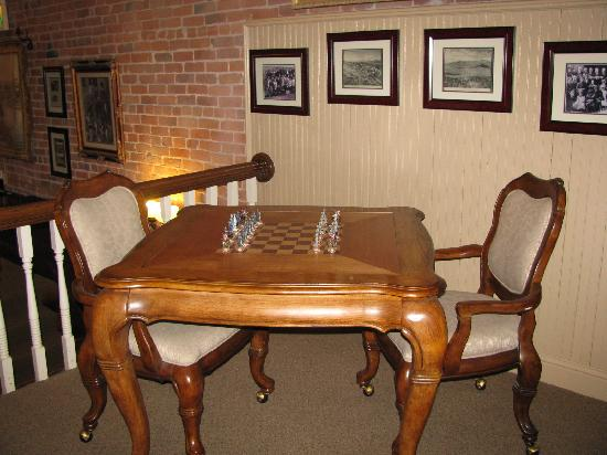 Carr Manor: chess upstairs
