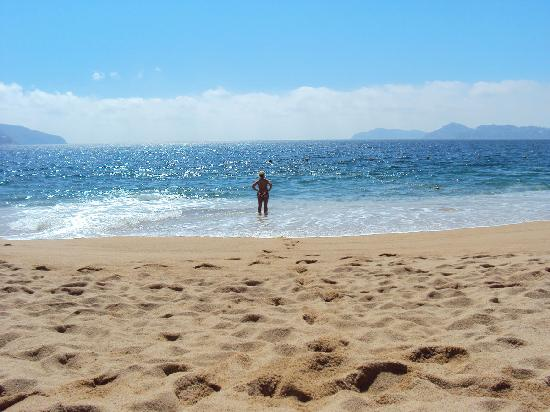 Hotel Acapulco Malibu: hotel beach mid day