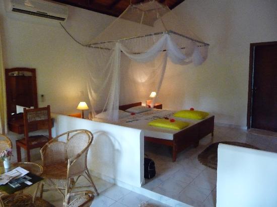 Dalmanuta Gardens - Ayurvedic Resort & Restaurant: la chambre