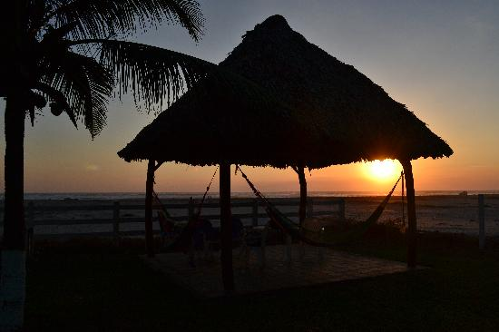 Comfort Inn Bahia Dorada: Racho de hamacas