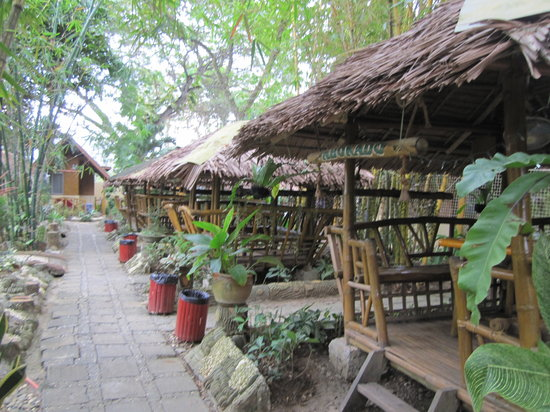Kawayanan Resort : Landscaped grounds