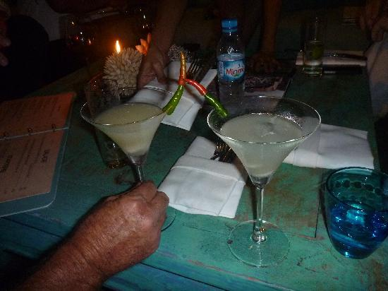 Brush Restaurant & Lounge : That cocktail with the chilli