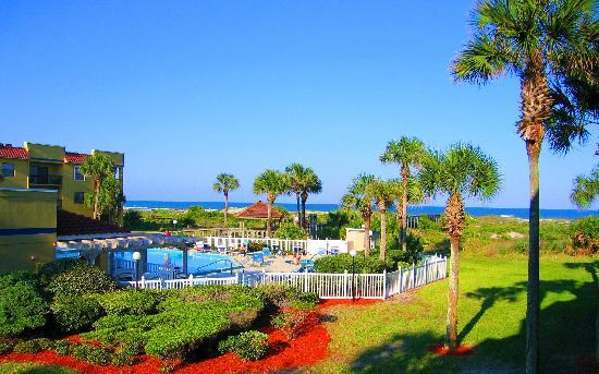 Saint Augustine Beach, FL: Ocean Village Club Beachfront Resort, St. Augustine Beach, FL