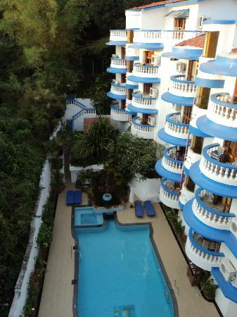 Karma Royal Monterio: view from top floor