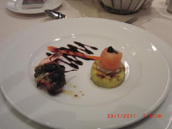 Cleopatra Luxury Resort : One of the dishes at Fellini`s