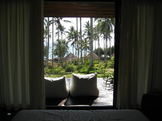 Shantaa Koh Kood: view from the bed