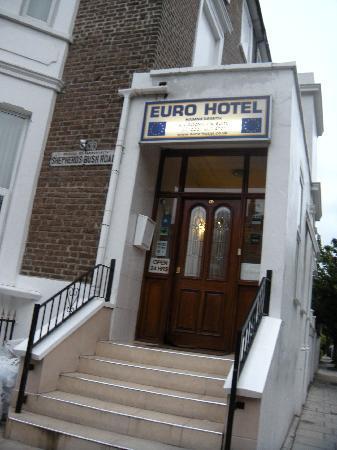 Euro Hotel Hammersmith: ingresso hotel