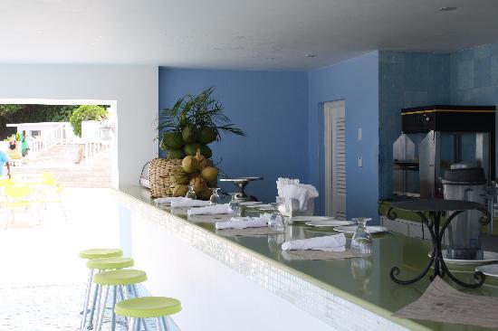 Couples Tower Isle : veggie bar