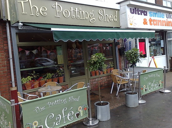 The Potting Shed Cafe: Potting Shed - Chanterlands Avenue Hull