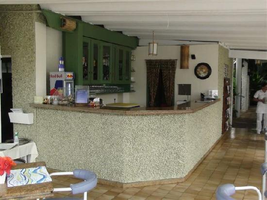 Ubatuba Palace Hotel: Bar de la piscina