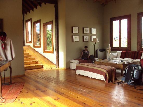 Hosteria La Estepa: La entrada