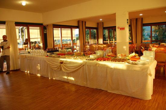 Ristorante Golf Club Punta Ala : buffet