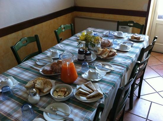 Agrituristica La Ginestra: la colazione
