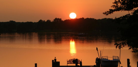 Miles River Guest House: Fabulous sunsets