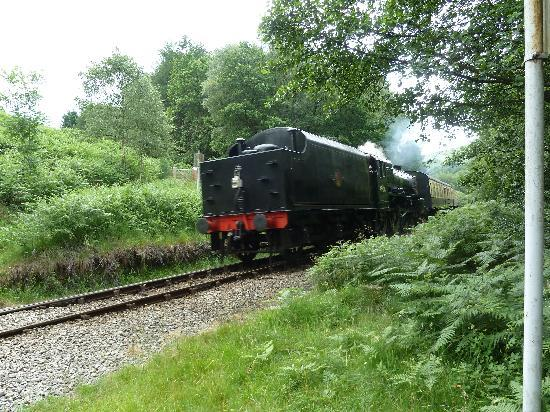Flamborough Rigg Cottage : NYMR Train nearby