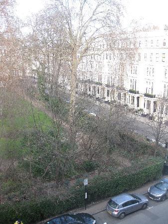 Kensington Gardens Hotel: Udsigt fra værelset