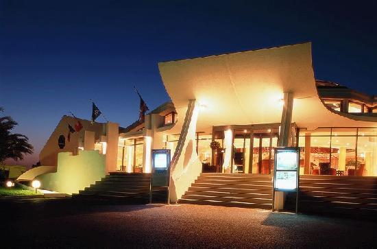 Novotel La Grande Motte Golf: L'arrivée le soir