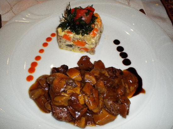 Sirkeci Mansion: 夕飯も美味しい!