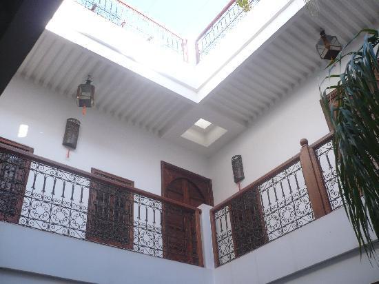 Riad 107: La cour centrale