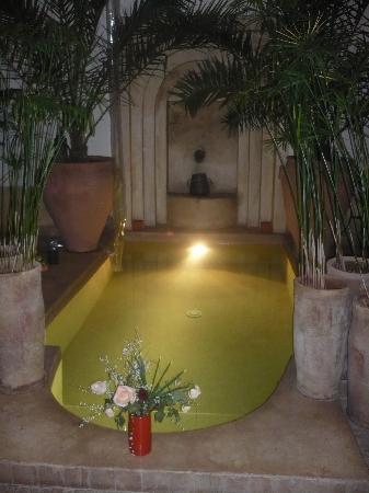 Riad 107: Un des bassins