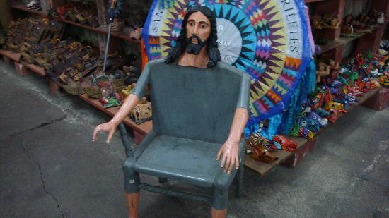 Yes A Jesus Chair Picture Of Casa Florencia Hotel