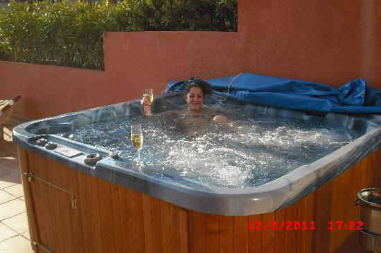 Holiday Polynesia: super jacuzzi en la terraza de mi suitee !!