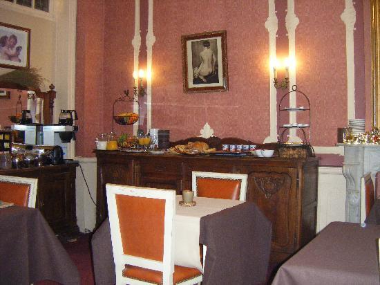 โรงแรมแวนเอค: Sala colazione