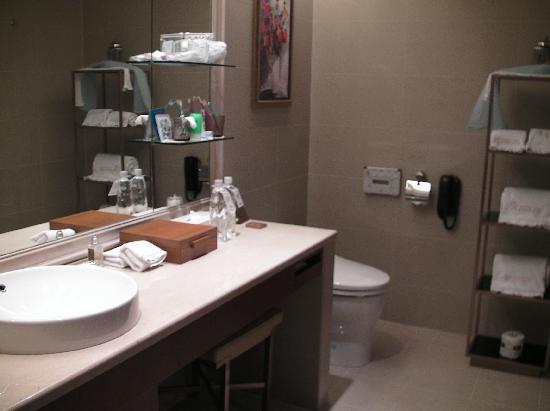 San Want Residences: 洗面台とトイレ