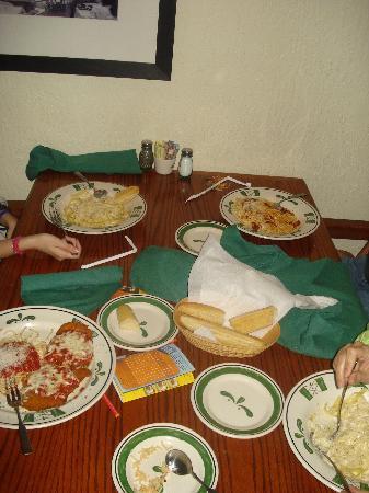 Olive Garden: Comida