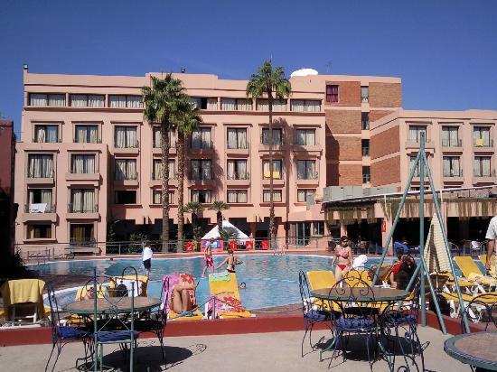 TUI SENSIMAR Medina Gardens: L'hotel vu du jardin
