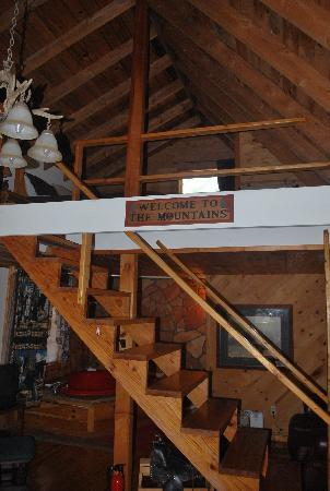 Cabins and Coffee: Bedroom loft