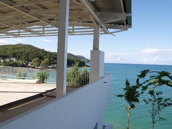 Vue chambre picture of langley resort hotel fort royal for Hotels guadeloupe