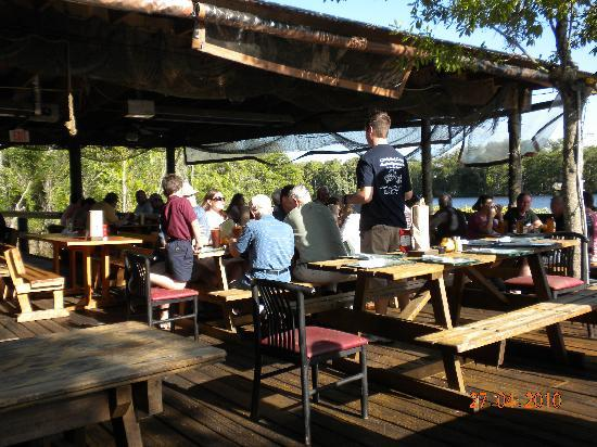 Menu picture of clark 39 s fish camp jacksonville for Fish camp menu